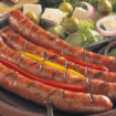 Колбаски «Нюрбергские», жареные на гриле