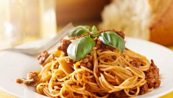 Спагетти по флотски