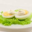 яйцо с майонезом